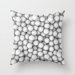 Golf balls Throw Pillow