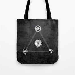 Cosmic Trinity Tote Bag