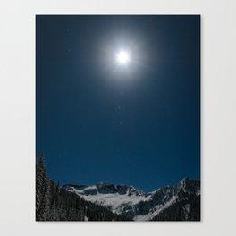 Ymir Under the Moon Canvas Print