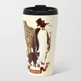 At the Arkham Zoo Travel Mug
