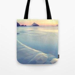 Faded Ocean Tote Bag