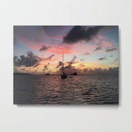 Captured at Sea Metal Print