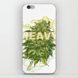 heavy iPhone Skin