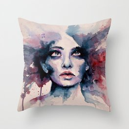 Distance Throw Pillow