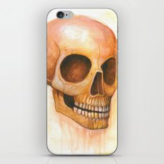 deaths grinning head iPhone & iPod Skin