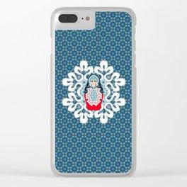 Little Matryoshka Clear iPhone Case