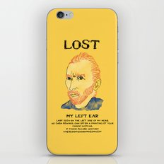 Where did it Gogh? iPhone Skin