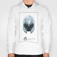 magneto Hoodies featuring Magneto by Tony Vazquez