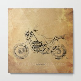 232-2019 R1250RS awesome motorcycle poster Metal Print