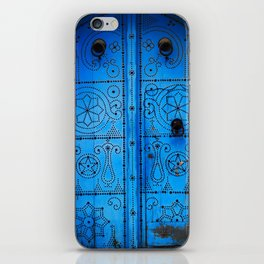 Sidi Bou Said Blue iPhone Skin