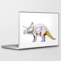 dino Laptop & iPad Skins featuring Dino by Rocío Gómez