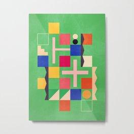 geometric abstract 219 Metal Print