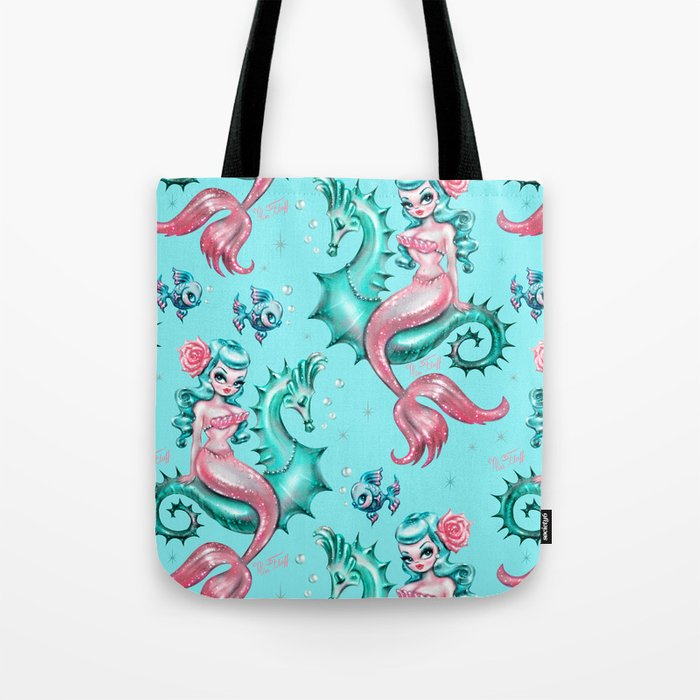 Mysterious Mermaid Tote Bag