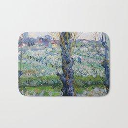 "Vincent Van Gogh ""View of Arles, Flowering Orchards"" Bath Mat"