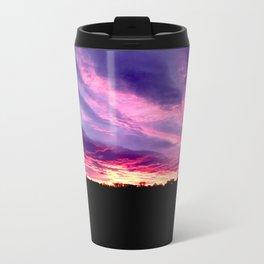 Purple Sunrise Travel Mug