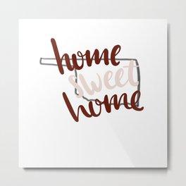 Home Sweet Home Oklahoma Metal Print