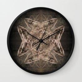Chrysalis — Spun Gold Wall Clock