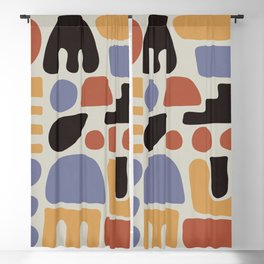 Shapes & Colors Blackout Curtain