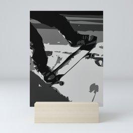 Half Pipe Skateboarding Mini Art Print