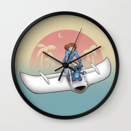 Nobody Gets Left Behind Wall Clock