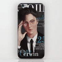 levi iPhone & iPod Skins featuring SnK Magazine: Levi by emametlo