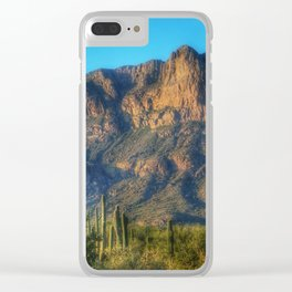 Supersition Wilderness Clear iPhone Case