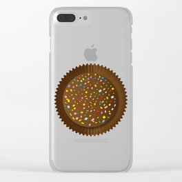 Chocolate Box Sprinkles Clear iPhone Case