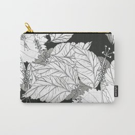 Hibiscus meets Pandanus (St. Damien 11) Carry-All Pouch