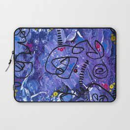 """""""blank thoughts"""" Laptop Sleeve"""