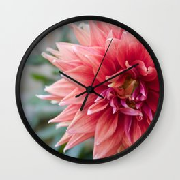 Fifty Shades Of Pink Wall Clock
