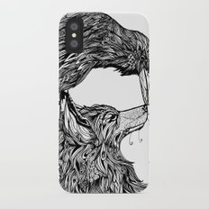 Fox and the Crow iPhone X Slim Case