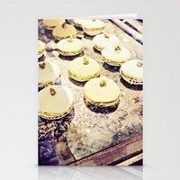 macaron Stationery Cards featuring macaron by inourgardentoo