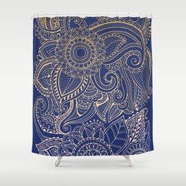 Hena Design I Shower Curtain