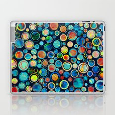 Dots on Painted Background Laptop & iPad Skin