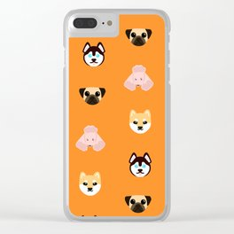 doggies Clear iPhone Case