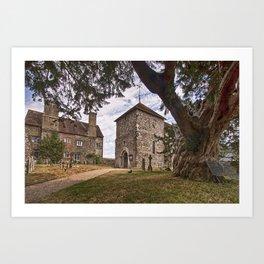 St Mary Sullington Art Print