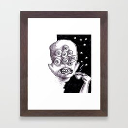 It's a starry coffeenight Framed Art Print