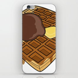 Waffle Time is Anytime. iPhone Skin
