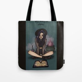 Happy Halloween, Witches Tote Bag