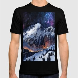 Mountain CALM IN space view T-shirt