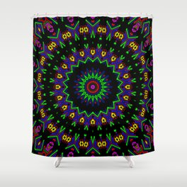 Space Invaders Shower Curtain