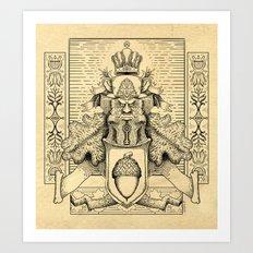 Knighthood of the Oak Art Print