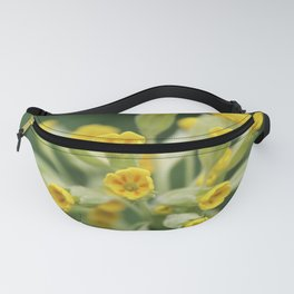 Yellow primula Fanny Pack