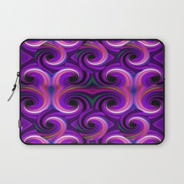 Swirled and Twirled Colors Laptop Sleeve
