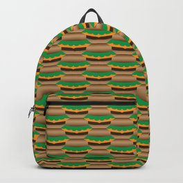 Cheeseburger Tessellation Backpack
