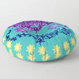 Dancing Salamanders Floor Pillow
