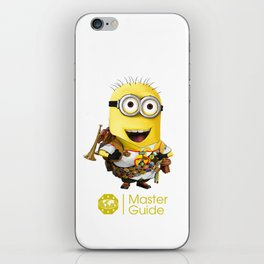 MasterGuide Minion iPhone Skin
