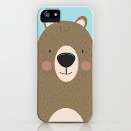 Bears Are Friendly iPhone Case