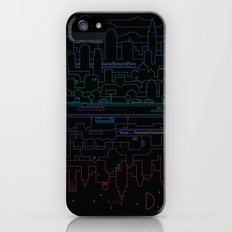 City 24 (Colour) Slim Case iPhone SE