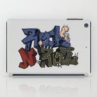 rock n roll iPad Cases featuring Rock N Roll by Lovi